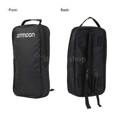 ammoon Aluminum Alloy Guitar Pedal Board with Carrying Bag Tapes V8K3