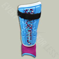 Vizari Frost Soccer Shin Guards - Blue And Pink (new) Lists $13