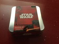 Disney Star Wars The Force Awakens Collector Tin Rare Collectable Inc Pin