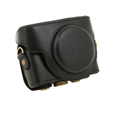 Camera Case Bag Cover Protector Protective for Sony DSC-RX100 Camera Black Strap