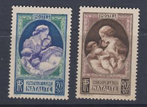 FRANCE-1940-YT-440-441-NATALITE-N-MNH-NSC-COTE-16