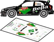 DECALS 1/43 TOYOTA COROLLA WRC - #11 - ALLEN - RALLYE ULSTER 2008 - D43147