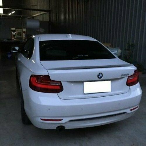 Stock P Type Rear Trunk Spoiler Wing ABS For 2014~18 BMW 2-Series F22 Coupe ✪