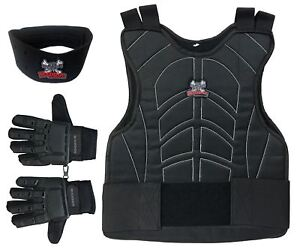 Maddog-Chest-Protector-Tactical-Glove-Neck-Protector-Paintball-Combo-Black-SMD