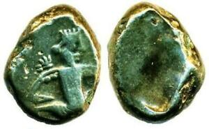LYDIA, GREAT KINGS, 420-375 BC., SILVER SIGLOS, DAGGER AND BOW TYPE!