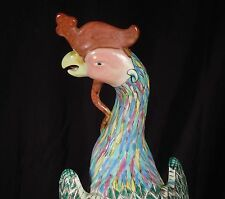"Chinese Porcelain Phoenix Figure 10"""