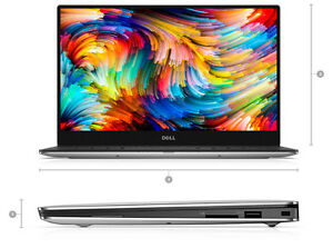 Dell-XPS-13-9360-i7-8550U-8GB-256GB-FHD-InfinityEdge-IPS-1YR-WARRANTY-8th-Gen