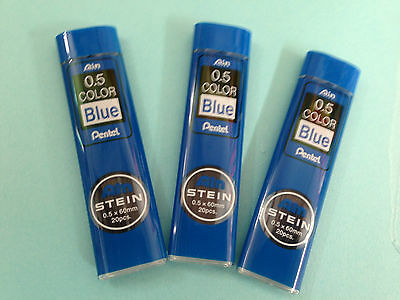 Pentel Ain Stein 0.5mm pencil leads x 3 tubes   GBP4.99  FREE POSTAGE
