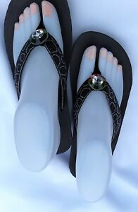ad1e7c062 Image is loading AGAPE-New-Ladies-Womens-Girls-Platform-Flip-Flops-