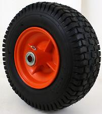 "13x5.00-6 2 Ply Turf Tread Tire on Rust Free Rim - W/ Sealed 5/8"" HD Bearing"