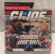 SDCC 2009 Hasbro Exclusive: GI Joe Combat Heroes - Snake Eyes & Timber, NEW, MIP