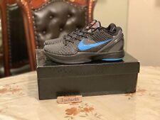 e470a287b1e0 Nike Kobe VI 6 Dark Knight 429659-016 Very RARE Sz US 8.5 UK 7.5 ...
