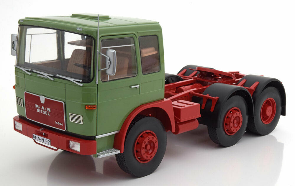 Road Kings 1972 M.A.N. F7 16304 Green Red 1 18 Scale New  Limited Ed of 750