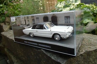 Ford Thunderbird James Bond 007 Goldfinger 1:43 Diecast Modellauto DY042