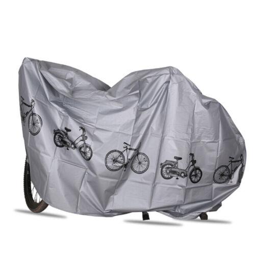 Universal Bike Rain Cover Motorcycle Bicycle Waterproof Sun Dust Rust New ZPXI
