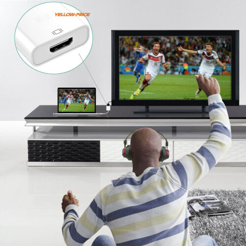 Gold USB 3.1 Type C to HDMI Adapter Apple New Macbook// Chromebook Pixel USB-C