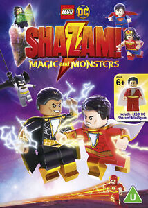 LEGO-DC-Shazam-Magic-and-Monsters-2020-DVD-with-Minifig-Sean-Astin