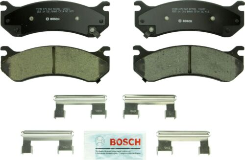 Disc Brake Pad Set-Quietcast Ceramic Pads with Hardware Front,Rear Bosch BC785
