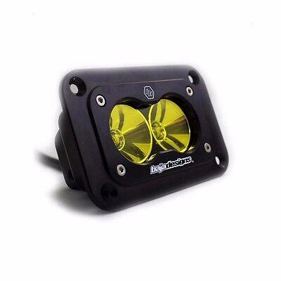 Baja Designs S2 Pro Clear LED Light Spot Beam ATV UTV Truck Flush Mount White