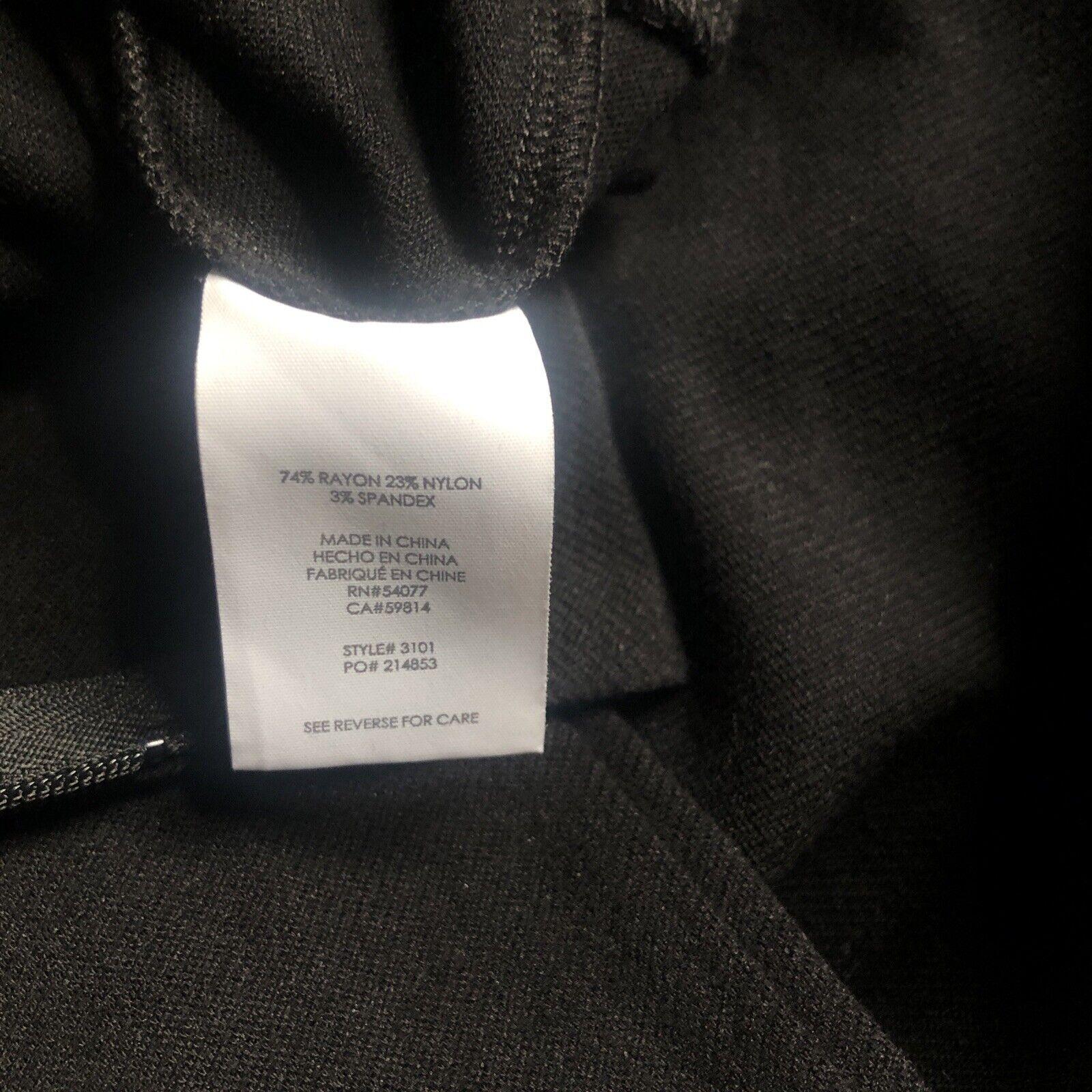 Cabi Claire Modern Sheath Dress q Black Ponte Kni… - image 7