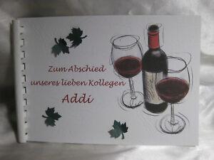 Abschied kollege erinnerungsbuch rente abschiedsgeschenk for Abschiedsgeschenk rente