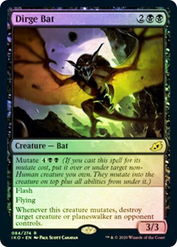ikoria   MTG  FOIL  Dirge Bat   Magic Rare