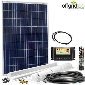 wohnmobil solaranlage basic starter 100w 12v 100 watt wohnwagen solar pv. Black Bedroom Furniture Sets. Home Design Ideas
