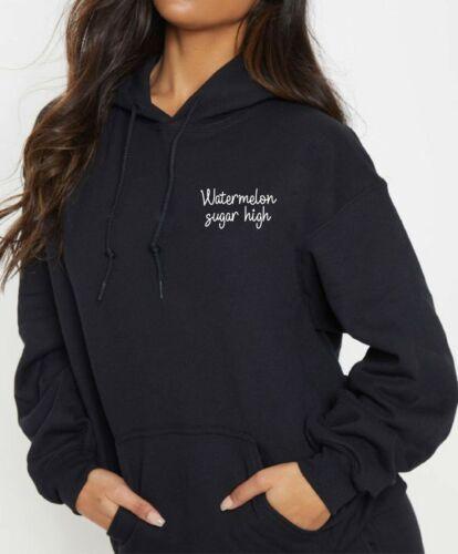 Sudadera con capucha para mujer de azúcar Sandía rápido de alta moda Harry Styles 2020 Letras