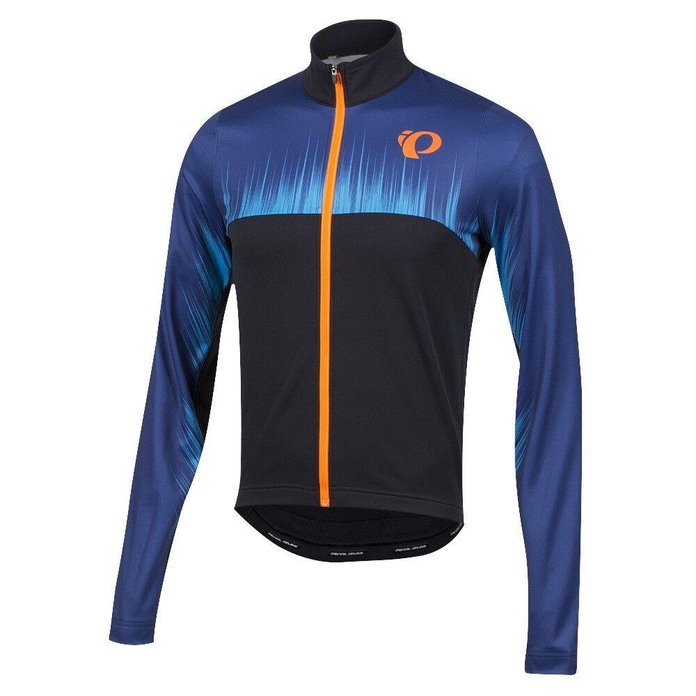 Pearl Izumi Select Thermal Ltd Bicicletta Maglia Aumento Blu Depths XL