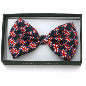 2fffa12c6a8a New Hobo Multi Union Jack England UK Flag Bow Tie Bowties Stylish ...