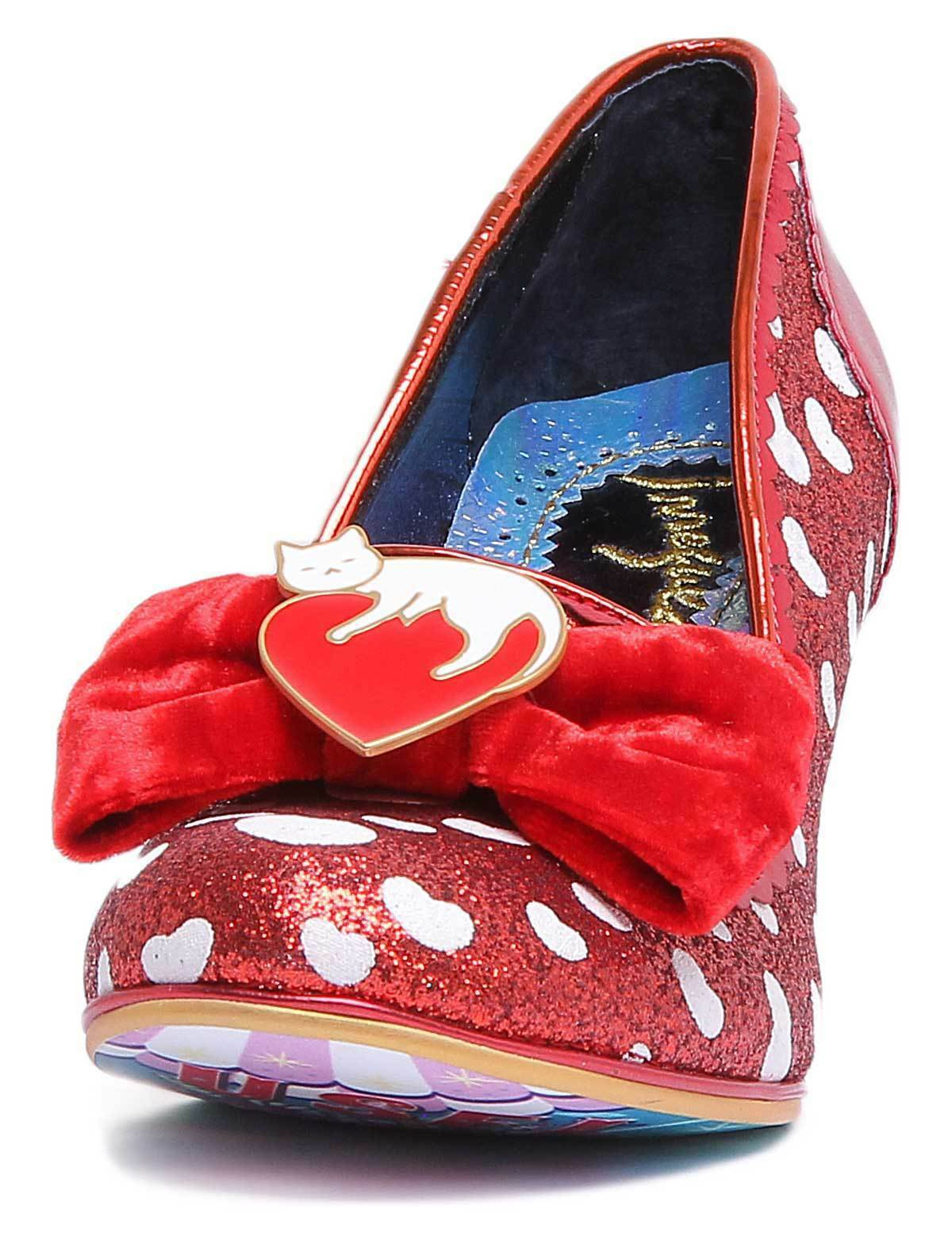 Irregular Choice DREAM DREAM DREAM LOVER Damenschuhe ROT Synthetic Schuhes 5980bf