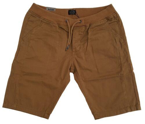 Da Uomo S /& J Vita Elasticizzata Pantaloni Corti Chino da Crosshatch diaulos-Camel