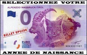 Ne Kx-1 / Billet Touristique 2017-1 / Billet Souvenir 0 € / Annees De Naissance Qdk32ls4-07225448-123563427
