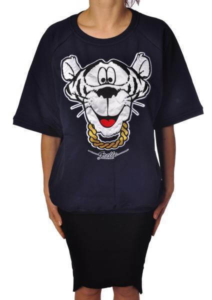 Gaëlle  Paris - Topwear-Sweatshirts - Woman - azul - 845718C183540  diseños exclusivos