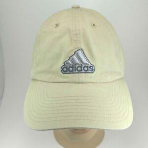 6883681b Adidas Men's Classic Six Panel Hat Tan Khaki Strapback Cap | eBay