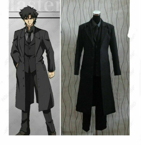 Anime Fate//Zero Clothes fate//stay night Emiya Kiritsugu Cosplay Costume