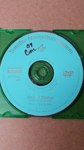 HONDA NAVIGATION DISC BM526AO USA CAN  VERSION 6.56A OEM