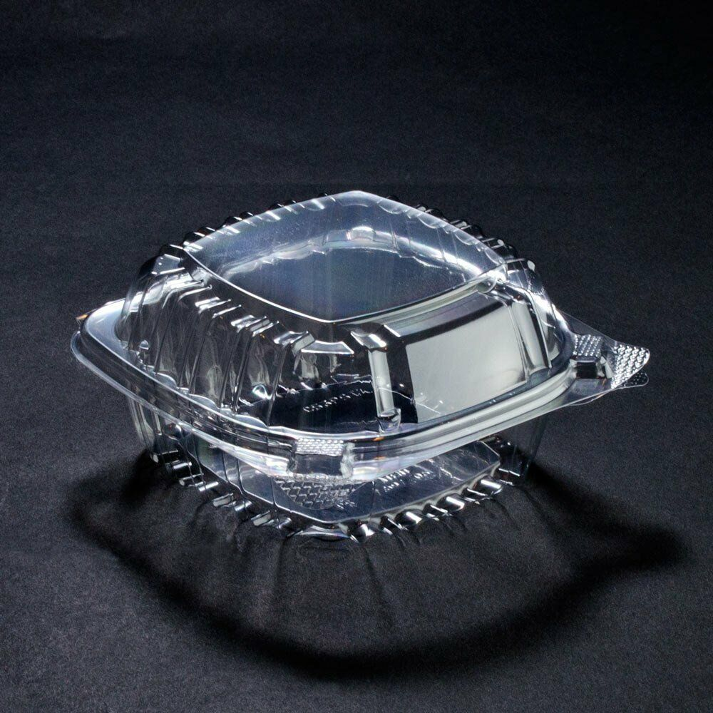 Dart Fusion C53PST1 Clearseal charnière clair conteneurs, 13 4 5 oz, Clair,