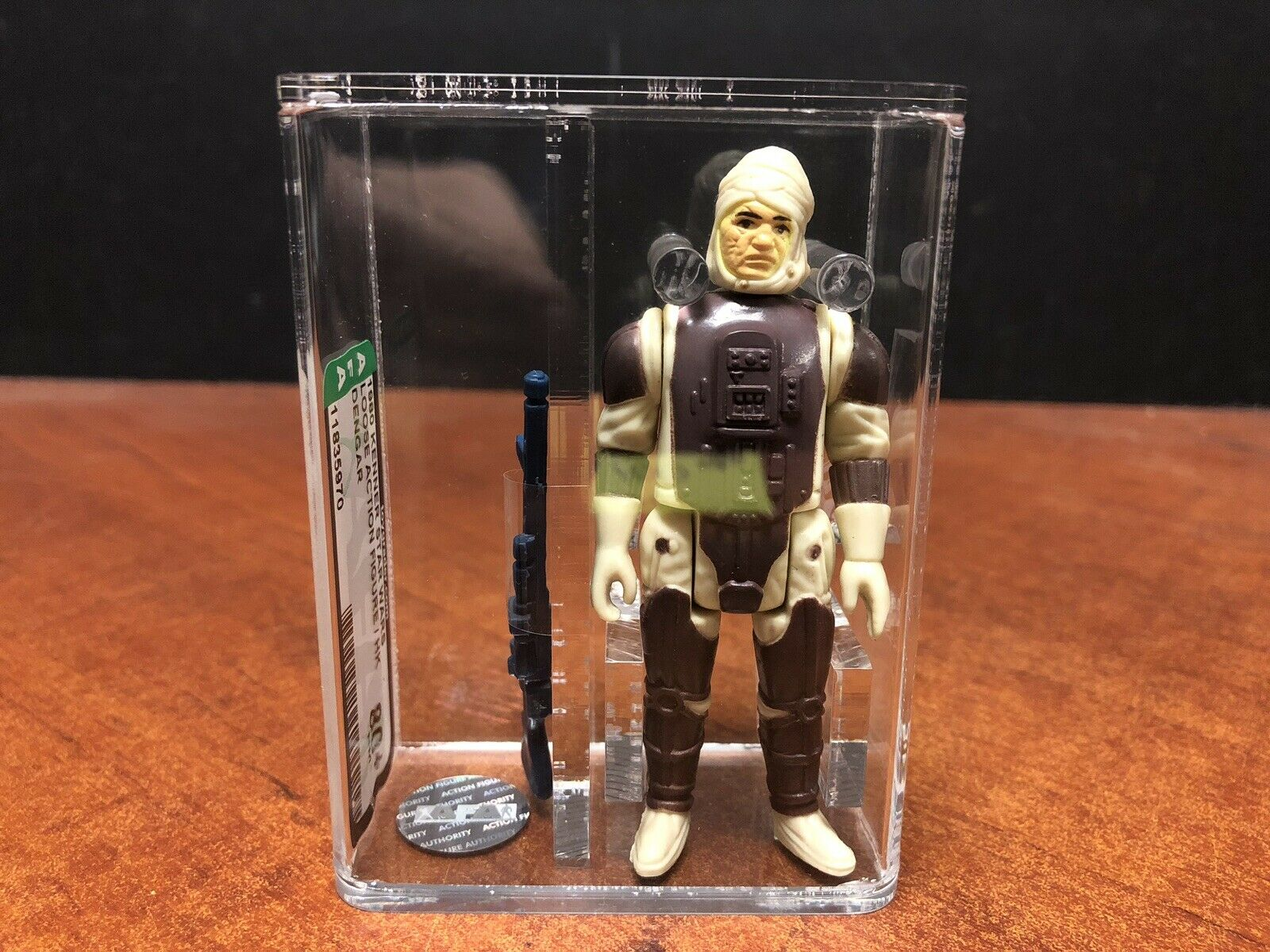 1980 Kenner Star Wars Dengar Loose AFA 80+ EMF3654