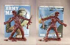 "Frank Kozik SIGNED 17"" Bronze Big Army Man Ultraviolence LE 50 AUTOGRAPHED"