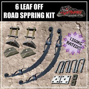 6-LEAF-OFF-ROAD-TRAILER-SPRING-SET-1350KG-CAMPER-CARAVAN-PART-REBOUND-STRAPS