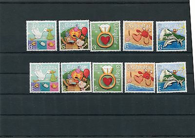 Responsible Gibilterra/gibraltar 2007 Serie Francobolli Per Salute Senza Appendice Mnh Good Reputation Over The World Stamps Europe