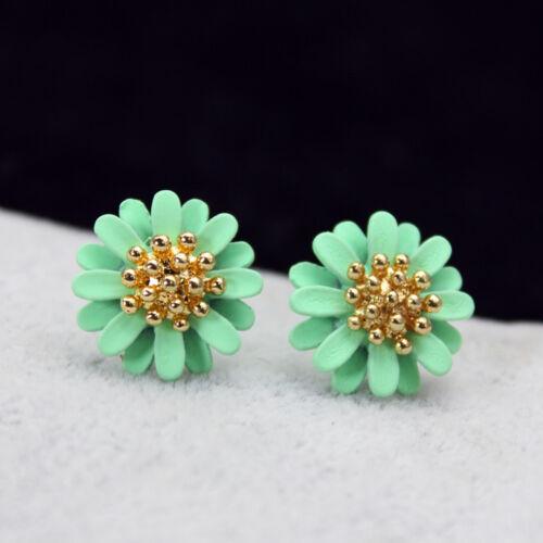 Elegante neue Artund Weise Schmucksache-große Blumen-Bolzen-Ohrringe für Frau ho