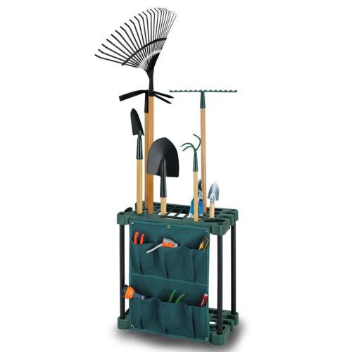 Outil de jardin jardinage caddy rack de stockage matériel hangar titulaire magasin organisateur