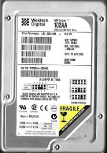 "Western Digital Caviar 20.5GB 5400RPM 3.5/"" IDE Desktop Hard Drive WD205AA-00BAA0"