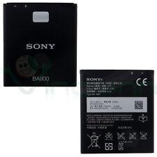 Batteria ORIGINALE Sony BA900 1700mAh per Sony Xperia J ST26i nuova BULK