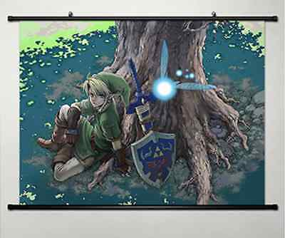 The Legend of Zelda Home Decor Anime Japanese Poster Wall Scroll New 035