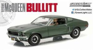 GREENLIGHT-13551-Ford-Mustang-GT-Fastback-car-Unrestored-Bullitt-S-McQueen-1-18
