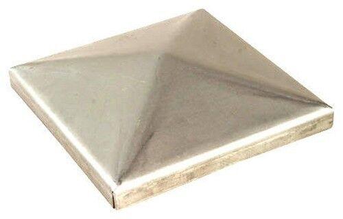 N 4 copripilastri copricolonna 100x100 Lid Cap Prof framework Steel Zinc