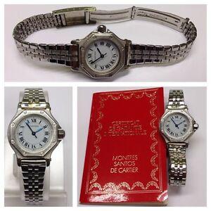 Details zu Damenuhr Markenuhr CARTIER mit Zertifikat Uhr funktionsfähig Armbanduhr
